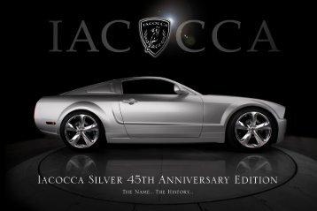 Lee Iacocca Mustang Sale Brochure (pdf) - MuscularMustangs.com