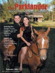 Cover_FEB 05 (Page 2) - The Parklander Magazine