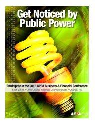 Sponsor/Vendor Prospectus - American Public Power Association