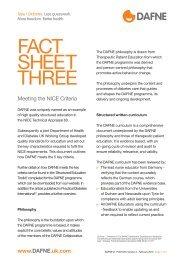 FACT SHEET THREE - Dafne - UK.COM