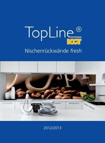 Nischenrückwände fresh - Trenz AG
