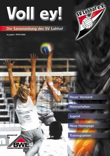 Voll ey! - SV Lohhof