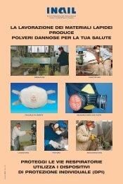 La lavorazione dei materiali produce polveri dannose per - Frareg
