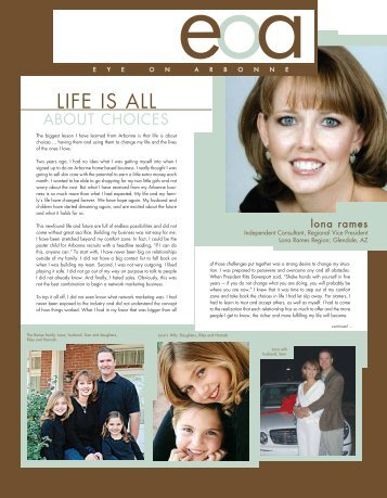 LIFE IS ALL - Arbonne