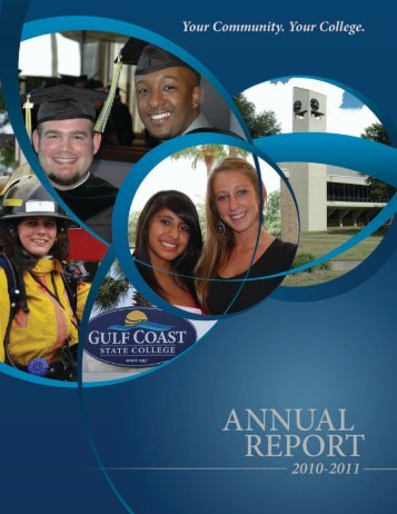 Annual Report 2010-2011 - Gulf Coast Community College