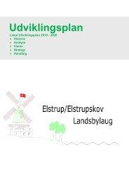 Elstrup – Elstrupskov udviklingsplan - Sønderborg kommune på ...