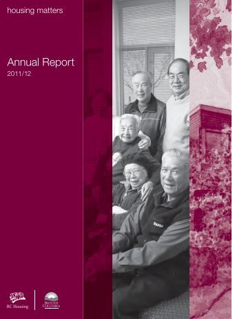 BC Housing Annual Report 2011/2012