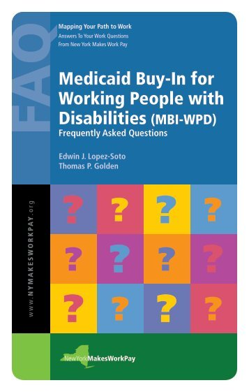 Medicaid Buy-In for Working People with ... - Cornell University