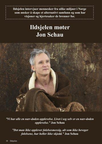 Ildsjelen møter Jon Schau