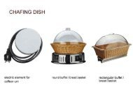 Page 1 Page 2 CHAFING DISH iEED chafing diah round classica ...