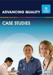 Advancing Quality Appendix - NHS North West