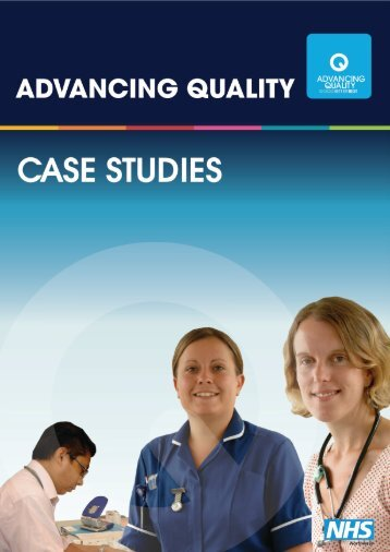 Advancing Quality Appendix - NHS North West