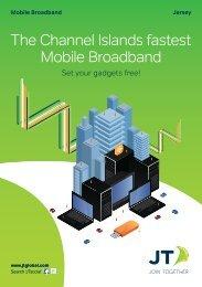 The Channel Islands fastest Mobile Broadband - JT