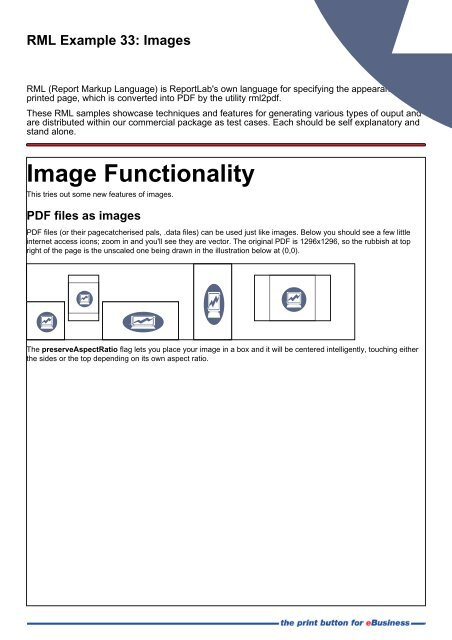 RML Example 33: Images - ReportLab