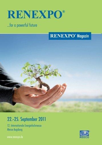 RENEXPO Magazin (PDF)