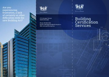 Building Certification Statewide - City of Perth
