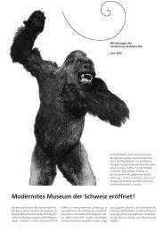 Modernstes Museum der Schweiz eröffnet! - Hintermann & Weber AG