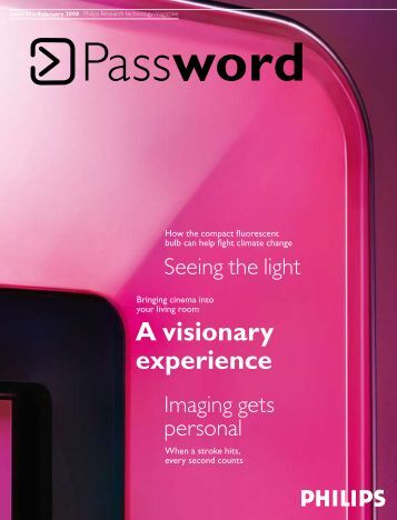 A visionary experience - Philips Research