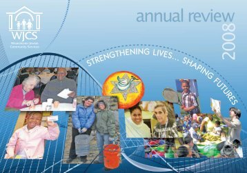 annual review 2008 - Westchester Jewish Community Services