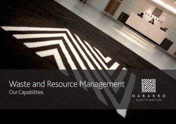 Waste and Resource Management - Nabarro