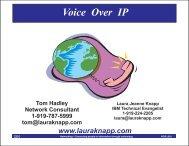 Voice Over IP - Laura Jeanne Knapp