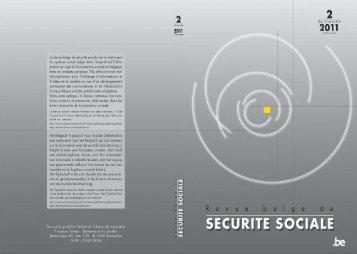 Revue Belge de Sécurité Sociale - FOD Sociale Zekerheid