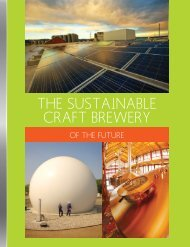 THE SUSTAINABLE CRAFT BREWERY - New Belgium Brewing