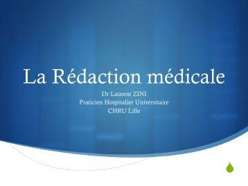 La Rédaction médicale - Urofrance