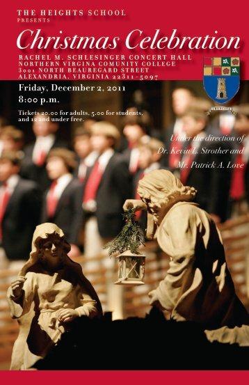 Christmas Celebration - The Heights School
