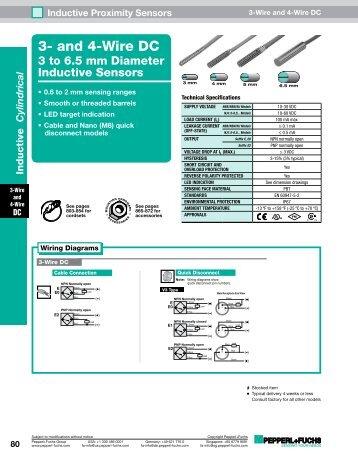 4 Wire Proximity Sensor Wiring Diagram Electrical Wiring Diagrams
