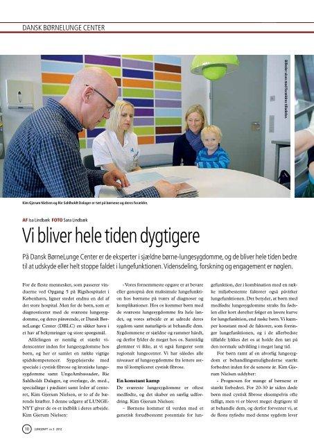 Lungenyt 3, 2012 - Danmarks Lungeforening
