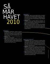 HAVET 2010 LIV OCH RÖRELSE I FRIA VATTNET ... - Havet.nu