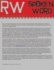 Official Newsletter of the Rapid Wheelmen Bicycle Club September ...