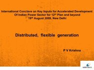 Distributed, flexible generation - Central Electrical Authority