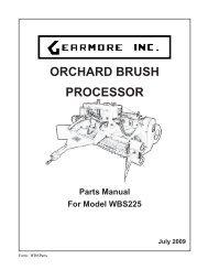 WBSParts - Gearmore, Inc.