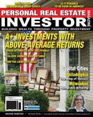 a+ investments with above-average returns - Campus Housing ...