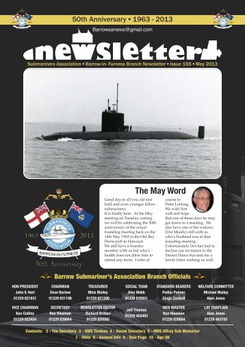 Newsletter - Barrow Submariners Association