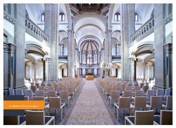 St. Mathew's Church Stuttgart Reference Card (PDF) - Microsorber