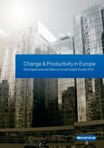 Mercuri Urval Insight Studie 2012