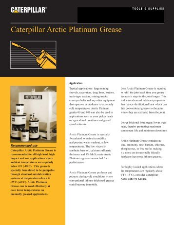 51516 Artic Platinum Grease (Page 1)