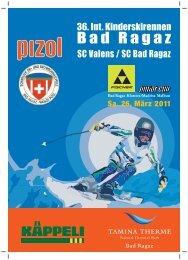 36. Int. Kinderskirennen Bad Ragaz - ALGE-TIMING Schweiz