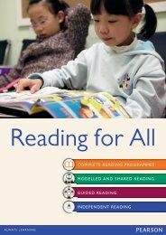 COMPLETE READING PROGRAMMES MODELLED AND SHARED ...
