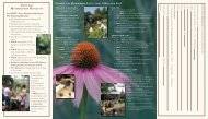 general membership benefits - Birmingham Botanical Gardens