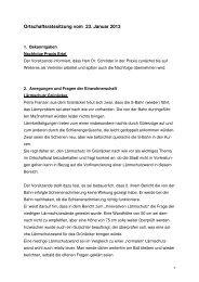 Protokoll ORM vom 23.01.2013 neu - bei der Stadt Sindelfingen