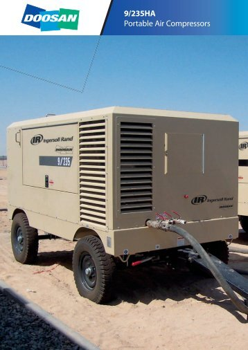 9/235HA Portable Air Compressors