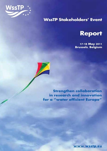 Couverture Stakeholders Report - Danish Water Forum