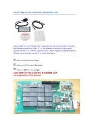 Autocom cdp pro for trucks manual pdf - VtoolShop