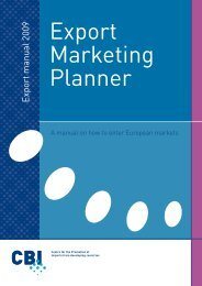 Export Marketing Planner - CEI