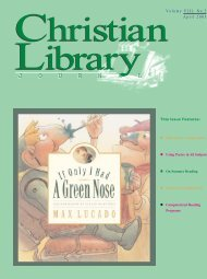 On Summer Reading - Christian Library Journal