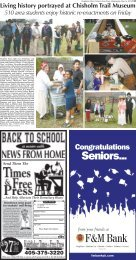 Section B Pages 13-14. - Kingfisher Times and Free Press